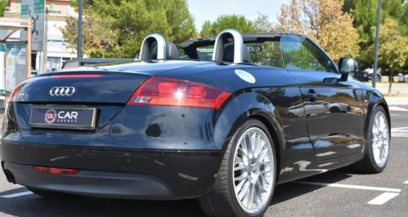 Audi TT Cabriolet 2.0 TFSI 200ch S-Line Boite Auto Noir occasion à ANTIBES - photo n°5