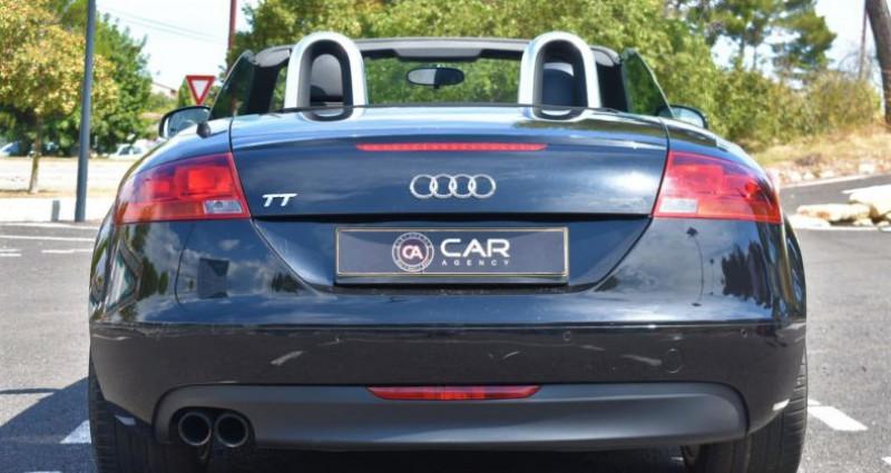 Audi TT Cabriolet 2.0 TFSI 200ch S-Line Boite Auto Noir occasion à ANTIBES - photo n°6