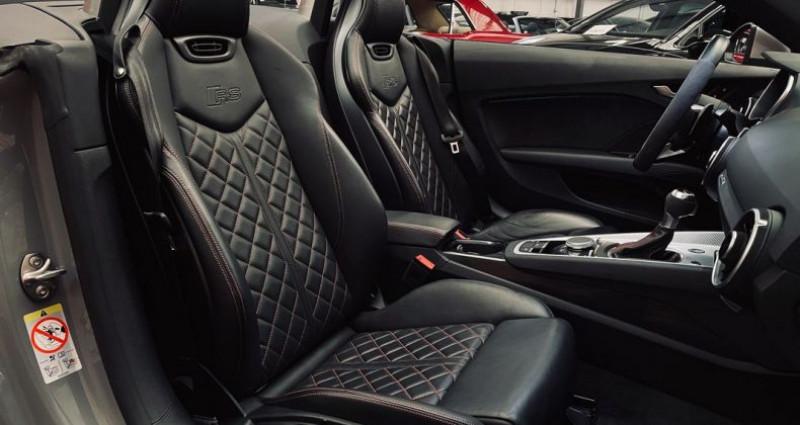 Audi TT Cabriolet 2.5 TFSI 400 cv GRIS NARDO ( TTRS )  occasion à Taverny - photo n°5