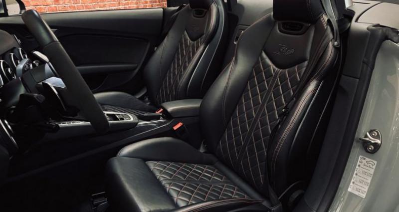 Audi TT Cabriolet 2.5 TFSI 400 cv GRIS NARDO ( TTRS )  occasion à Taverny - photo n°3