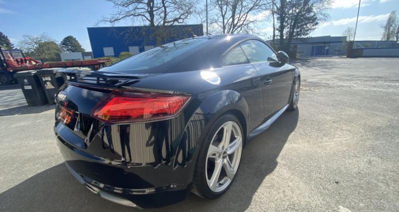 Audi TT III 1.8 TFSI 180ch S line S tronic 7 Noir occasion à AVRILLE - photo n°5