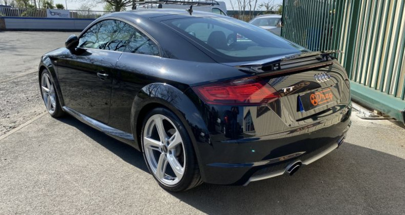Audi TT III 1.8 TFSI 180ch S line S tronic 7 Noir occasion à AVRILLE - photo n°4