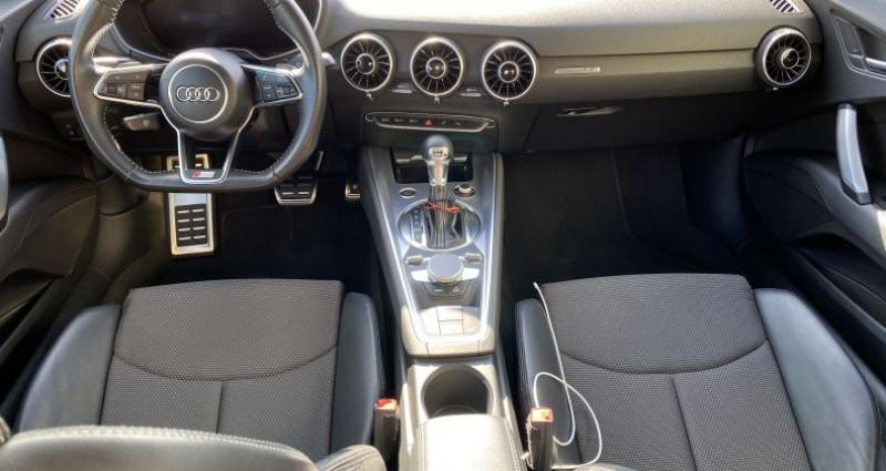 Audi TT III 1.8 TFSI 180ch S line S tronic 7 Noir occasion à AVRILLE - photo n°2
