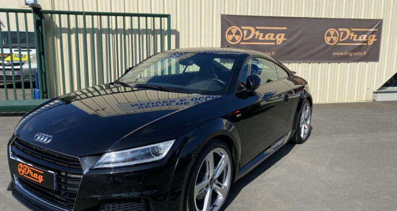 Audi TT III 1.8 TFSI 180ch S line S tronic 7 Noir occasion à AVRILLE