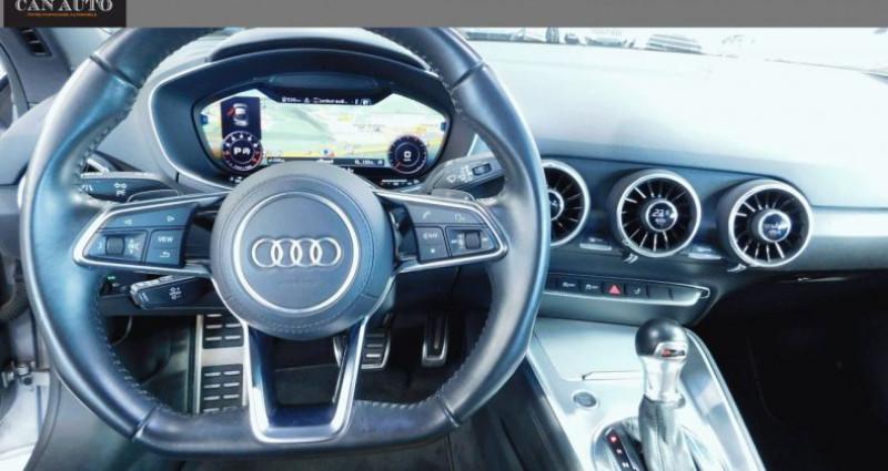 Audi TT III 2.0 TFSI 230ch quattro S tronic 6 Argent occasion à RIGNIEUX LE FRANC - photo n°5