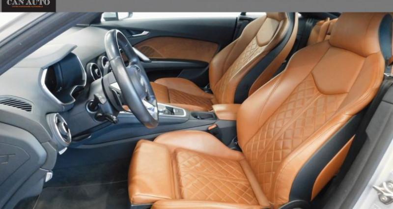 Audi TT III 2.0 TFSI 230ch quattro S tronic 6 Argent occasion à RIGNIEUX LE FRANC - photo n°3