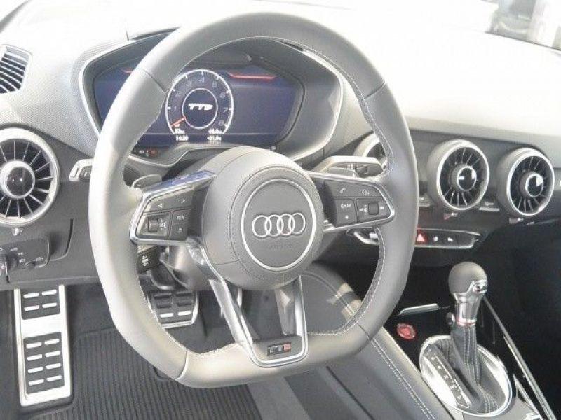 Audi TTS Roadster 2.0 TFSI 310 Quattro Noir occasion à Beaupuy - photo n°5
