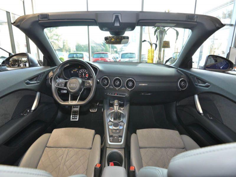 Audi TTS Roadster 2.0 TFSI 310 Quattro Bleu occasion à Beaupuy - photo n°2