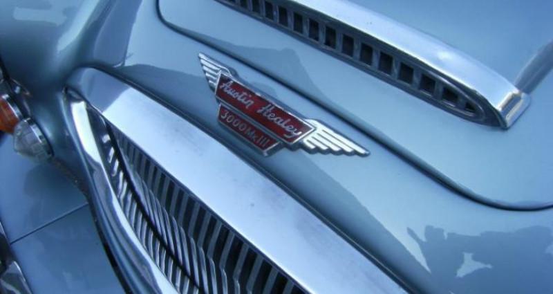 Austin healey 3000 MK3 PHASE 2 BJ8  occasion à ST JEAN DU CARDONNAY - photo n°6