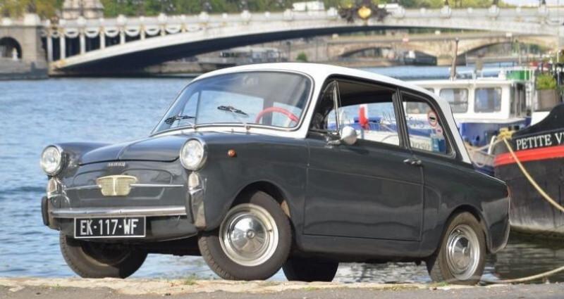 Autobianchi Bianchina TYPE 110 D Gris occasion à PARIS - photo n°2