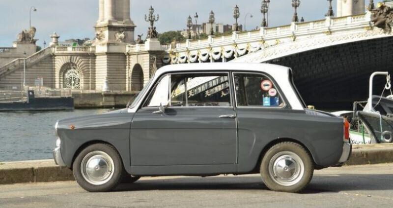 Autobianchi Bianchina TYPE 110 D Gris occasion à PARIS - photo n°3