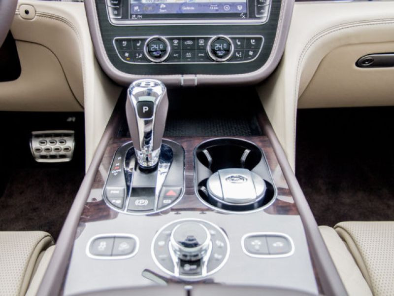 Bentley Bentayga W12 Marron occasion à BEAUPUY - photo n°8