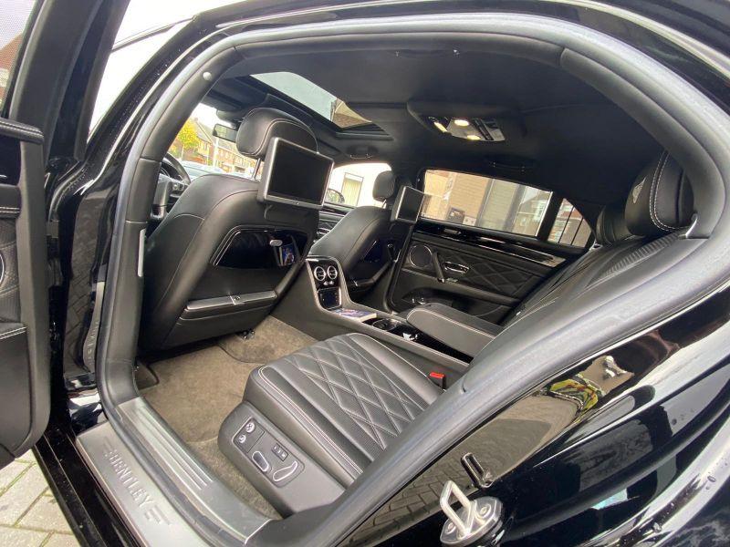 Bentley CONTINENTAL FLYING SPUR 4.0 V8 Mulliner Noir occasion à BEAUPUY - photo n°4
