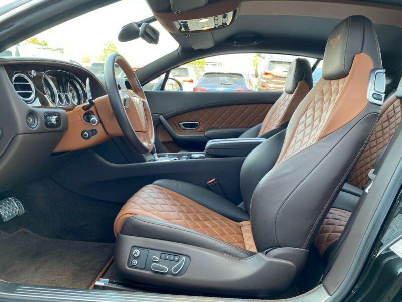 Bentley CONTINENTAL GT 4.0 V8 S MULLINER Noir occasion à BEAUPUY - photo n°7