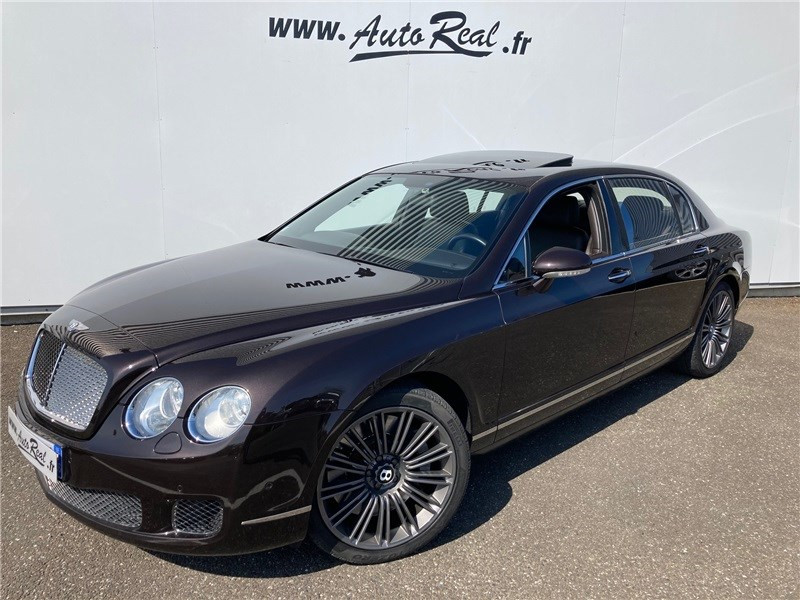 Bentley CONTINENTAL GT 6.0 W12 A Marron occasion à MERIGNAC - photo n°2