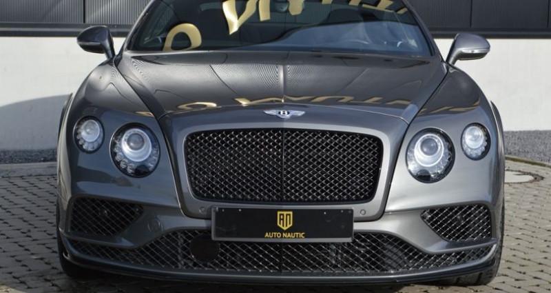 Bentley CONTINENTAL GT Black Edition !! W12 642 Ch !! Pack Carbonne Gris occasion à Lille - photo n°3