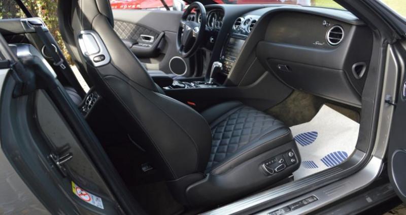 Bentley CONTINENTAL GT Black Edition !! W12 642 Ch !! Pack Carbonne Gris occasion à Lille - photo n°6