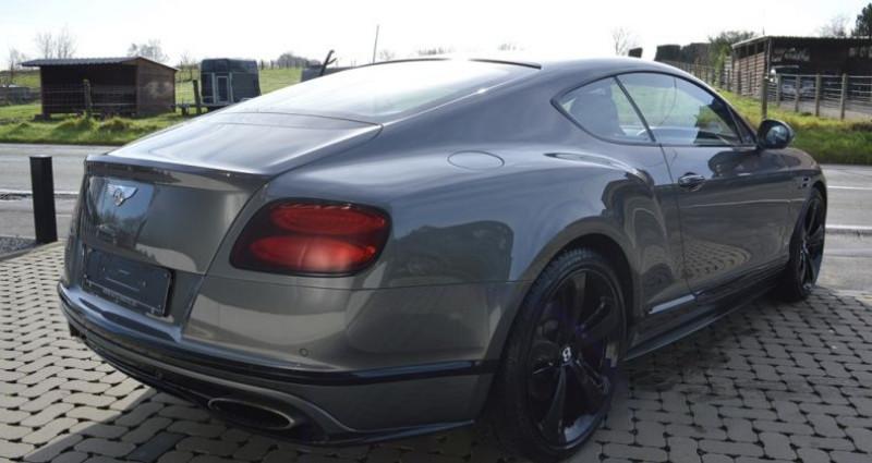 Bentley CONTINENTAL GT Black Edition !! W12 642 Ch !! Pack Carbonne Gris occasion à Lille - photo n°2