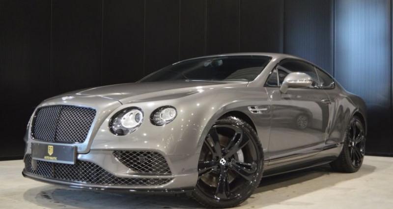 Bentley CONTINENTAL GT Black Edition !! W12 642 Ch !! Pack Carbonne Gris occasion à Lille