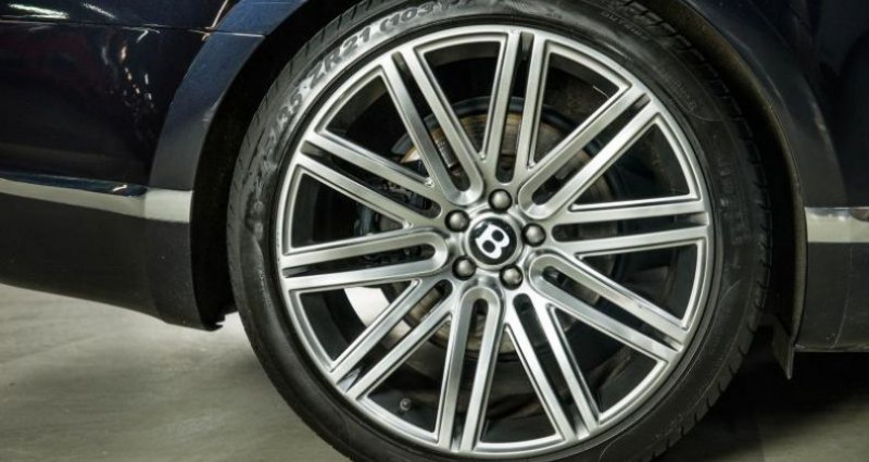 Bentley CONTINENTAL GT II SPEED 6.0 W12 625 Noir occasion à Paris - photo n°6