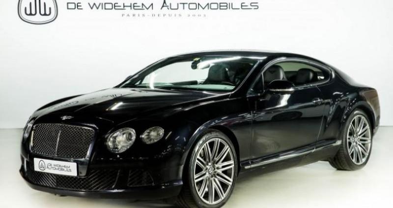 Bentley CONTINENTAL GT II SPEED 6.0 W12 625 Noir occasion à Paris