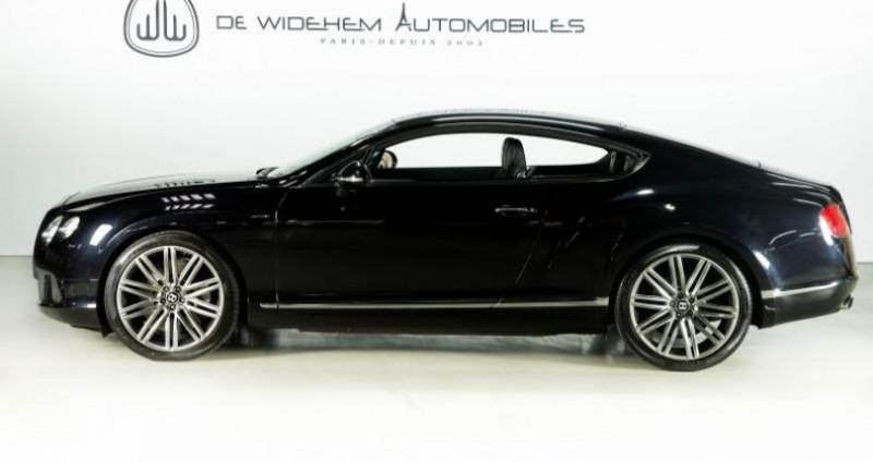 Bentley CONTINENTAL GT II SPEED 6.0 W12 625 Noir occasion à Paris - photo n°2