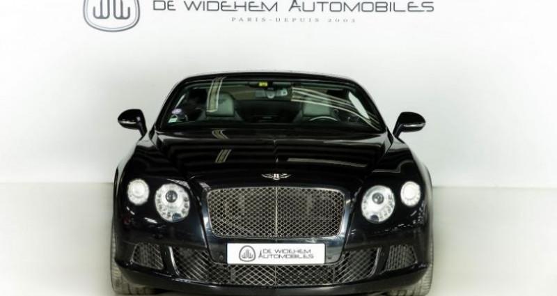 Bentley CONTINENTAL GT II SPEED 6.0 W12 625 Noir occasion à Paris - photo n°4