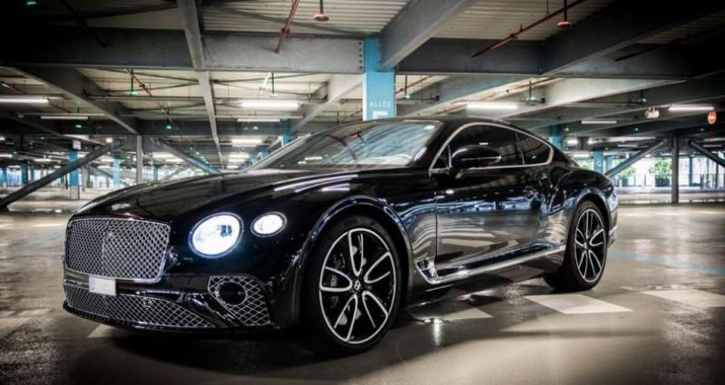 Bentley CONTINENTAL GT Mulliner 6.0 W12 635 Ch Noir occasion à SAINT LAURENT DU VAR - photo n°6