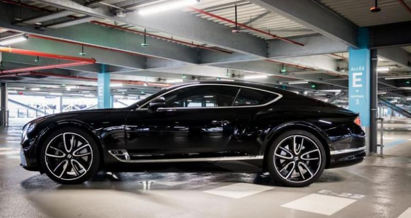 Bentley CONTINENTAL GT Mulliner 6.0 W12 635 Ch Noir occasion à SAINT LAURENT DU VAR - photo n°3
