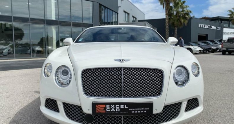 Bentley CONTINENTAL GT SPEED Blanc occasion à RIVESALTES - photo n°6