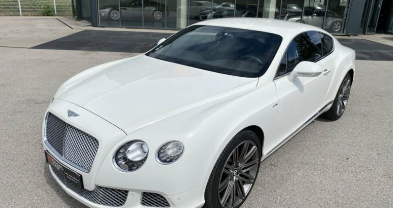Bentley CONTINENTAL GT SPEED Blanc occasion à RIVESALTES - photo n°2