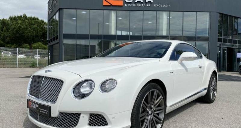 Bentley CONTINENTAL GT SPEED Blanc occasion à RIVESALTES