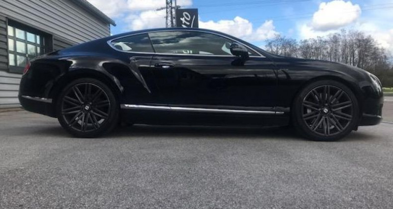 Bentley CONTINENTAL GT Speed2 Coupe 635CH W12 Noir occasion à DIJON - photo n°3
