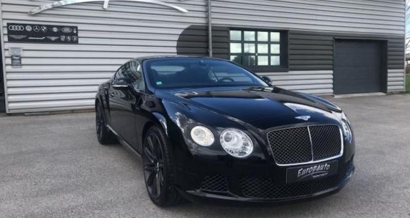 Bentley CONTINENTAL GT Speed2 Coupe 635CH W12 Noir occasion à DIJON