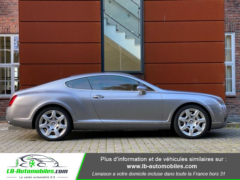 Bentley CONTINENTAL GT W12 6.0 560 ch BVA Gris occasion à Beaupuy - photo n°8