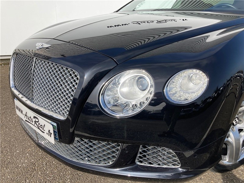 Bentley CONTINENTAL GT W12 6.0 575 CH A Noir occasion à MERIGNAC - photo n°16