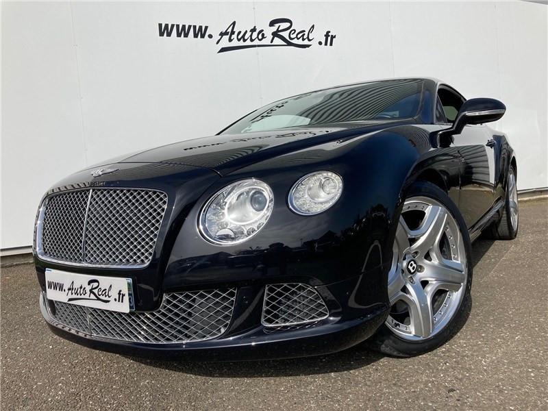 Bentley CONTINENTAL GT W12 6.0 575 CH A Noir occasion à MERIGNAC - photo n°3