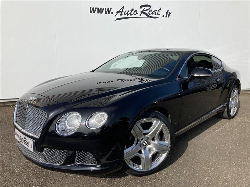 Bentley CONTINENTAL GT W12 6.0 575 CH A Noir occasion à MERIGNAC