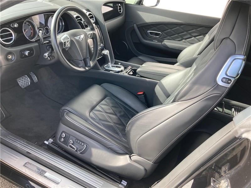 Bentley CONTINENTAL GT W12 6.0 575 CH A Noir occasion à MERIGNAC - photo n°8