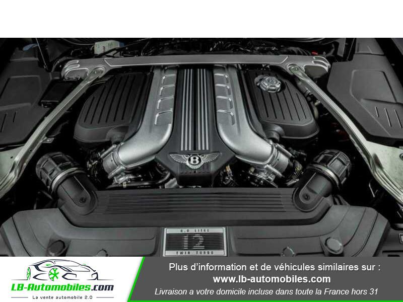 Bentley CONTINENTAL GT W12 6.0 635 ch BVA Noir occasion à Beaupuy - photo n°16