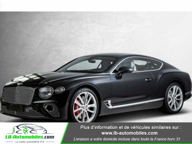 Bentley CONTINENTAL GT W12 6.0 635 ch BVA Noir occasion à Beaupuy