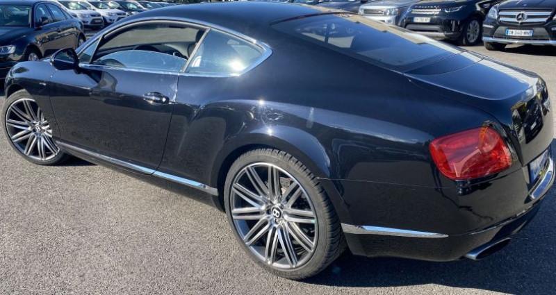 Bentley CONTINENTAL GT W12 6.0 SPEED Noir occasion à VOREPPE - photo n°3