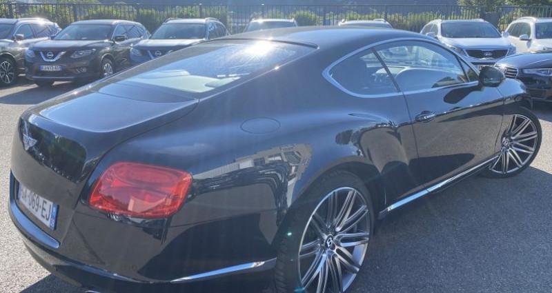 Bentley CONTINENTAL GT W12 6.0 SPEED Noir occasion à VOREPPE - photo n°2