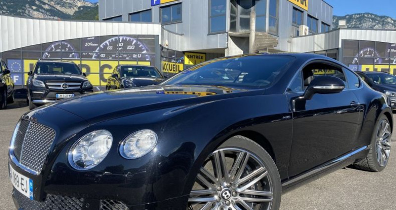 Bentley CONTINENTAL GT W12 6.0 SPEED Noir occasion à VOREPPE
