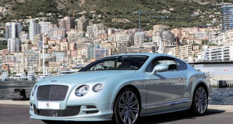 Bentley CONTINENTAL GT W12 6.0 Speed  occasion à Monaco