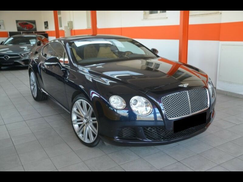 Bentley CONTINENTAL GT W12 Speed 610 ch Bleu occasion à BEAUPUY - photo n°9