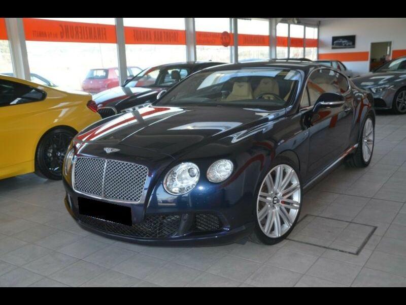 Bentley CONTINENTAL GT W12 Speed 610 ch Bleu occasion à BEAUPUY