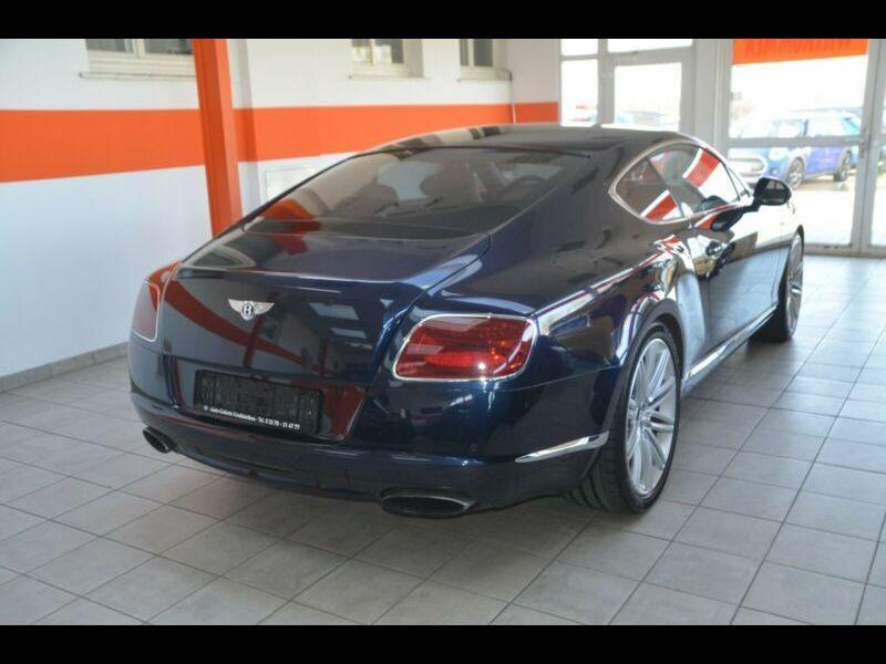 Bentley CONTINENTAL GT W12 Speed 610 ch Bleu occasion à BEAUPUY - photo n°3