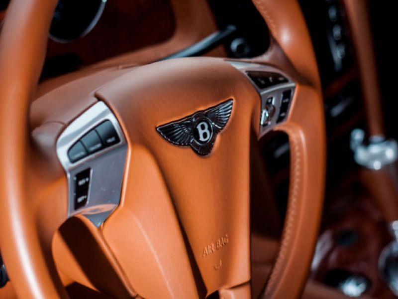 Bentley CONTINENTAL GT W12 Speed 610 ch Bleu occasion à BEAUPUY - photo n°4
