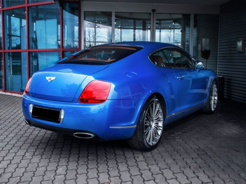Bentley CONTINENTAL GT W12 Speed 610 ch Bleu occasion à BEAUPUY - photo n°2